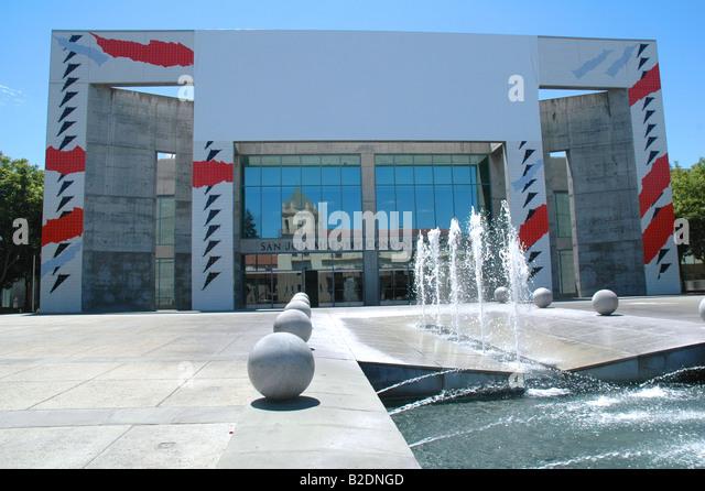 'san jose' McEnery convention center san jose california - Stock Image