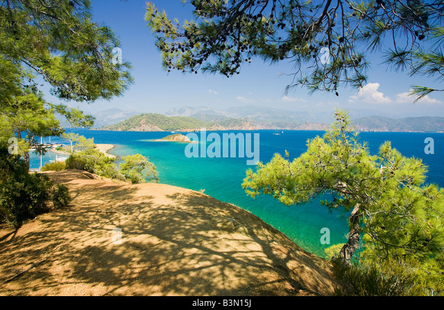 Yassicalar Islands Fethiye Turkey - Stock Image