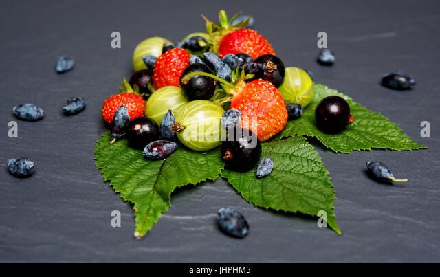 juicy summer fruit - Stock Image