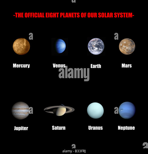 drawing of planets in solar system - photo #3