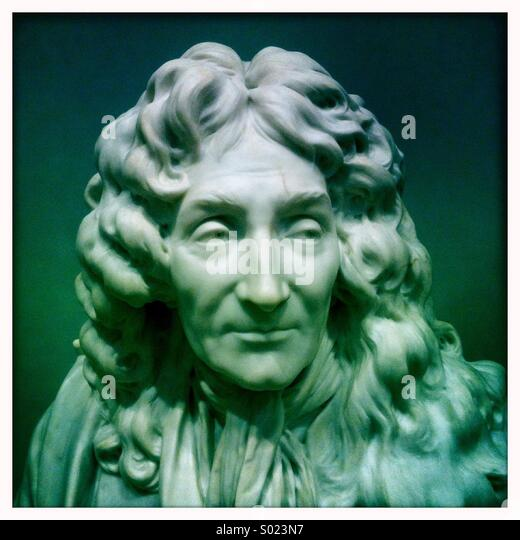 Marble statue of a man. - Stock-Bilder