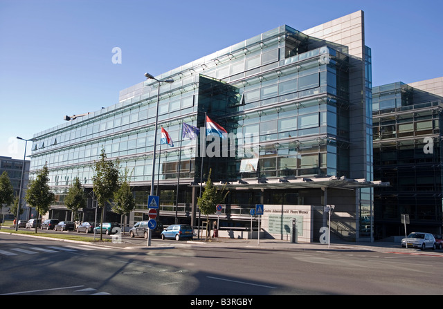 Gerichtshof stock photos gerichtshof stock images alamy for Chambre de commerce de luxembourg