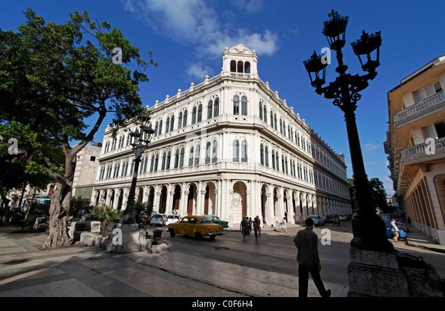 Paseo de Marti, Prado , Havanna Cuba - Stock-Bilder