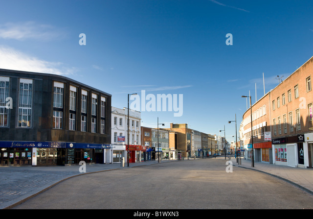 Below Bar retail area Southampton City Centre Hampshire England - Stock-Bilder