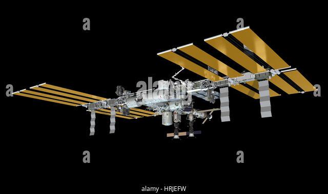 International Space Station, 2013 - Stock Image