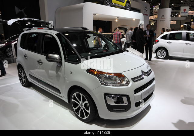 Citroen C3 Picasso van at the AMI - Auto Mobile International Trade Fair on June 1st, 2014 in Leipzig, Saxony, Germany - Stock Image
