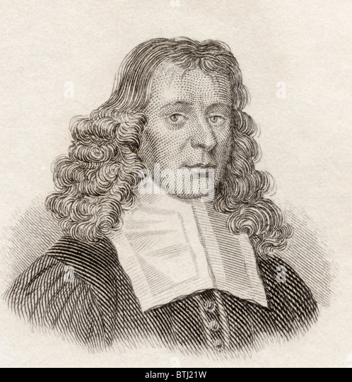 David Gregory, 1659 to 1708. Scottish mathematician and astronomer. - Stock Image