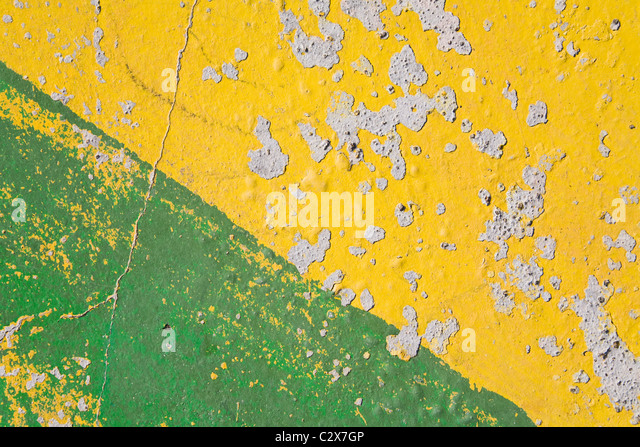 Distressed Paint - Stock Image