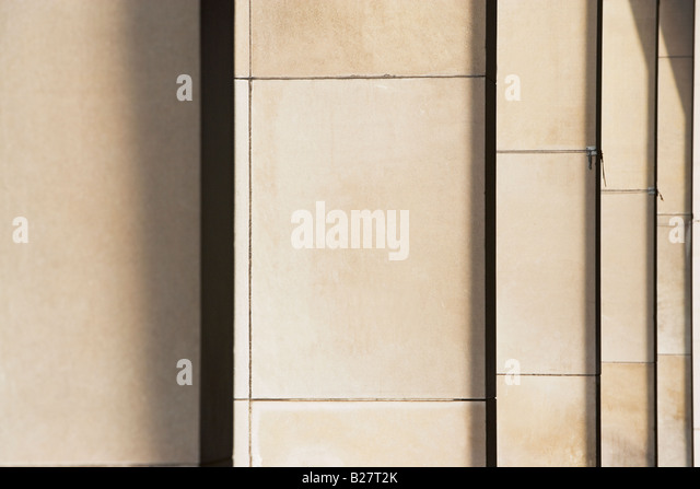 Row of columns - Stock Image