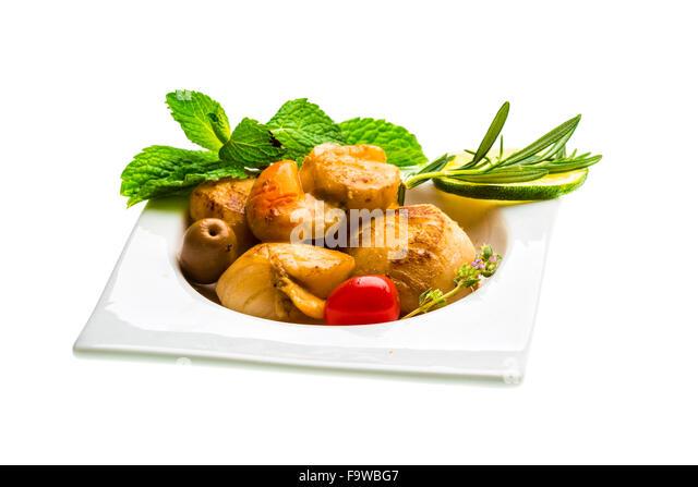 how to cook queen scallops