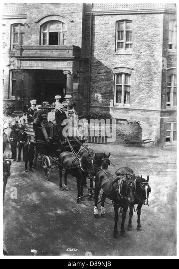 Lynton 1908 - Stock Image