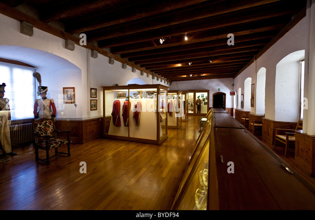 Vaud Military Museum, Morges Castle, Morges, Canton of Vaud, Switzerland, Europe - Stock Image