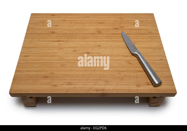 Dirty kitchen chopping board knife stock photos dirty for White cutting board used for
