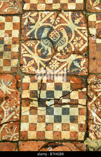 Medieval Floor on Tessellation Cut Outs