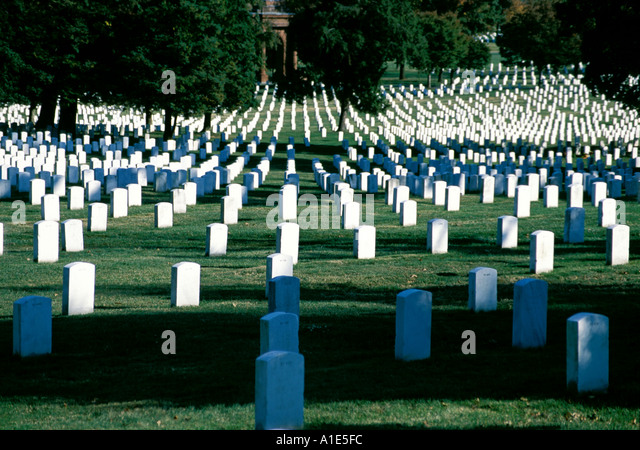 Arlington National Cemetery - Stock Image