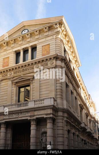 School of Applied Arts, Escuela de Artes Applicadas, in Barcelona old town, Ciutat Vella - Stock-Bilder