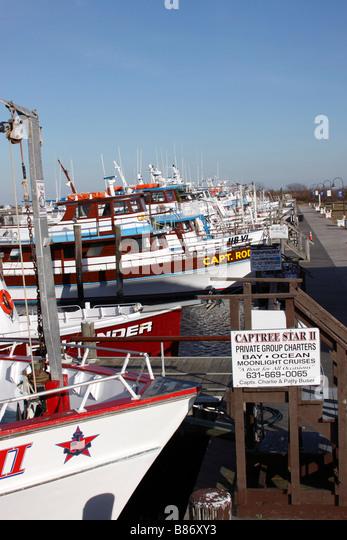 Charter fishing boats stock photos charter fishing boats for Charter fishing boats long island