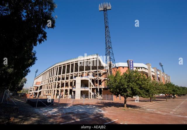 Pretoria city Loftus Stadium - Stock Image