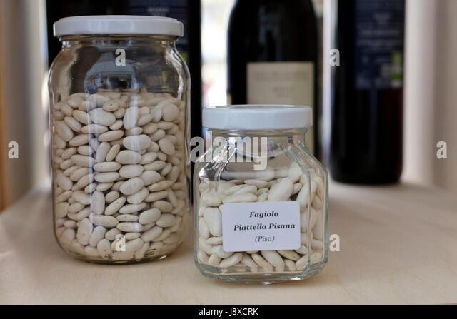 Typical bean from Pisa named 'Piattella pisana', Tuscany,Italy,Europe. - Stock Image