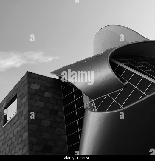 Canadian Cities, Architectural Details, The Art Gallery of Alberta, Edmonton Alberta Canada. - Stock-Bilder