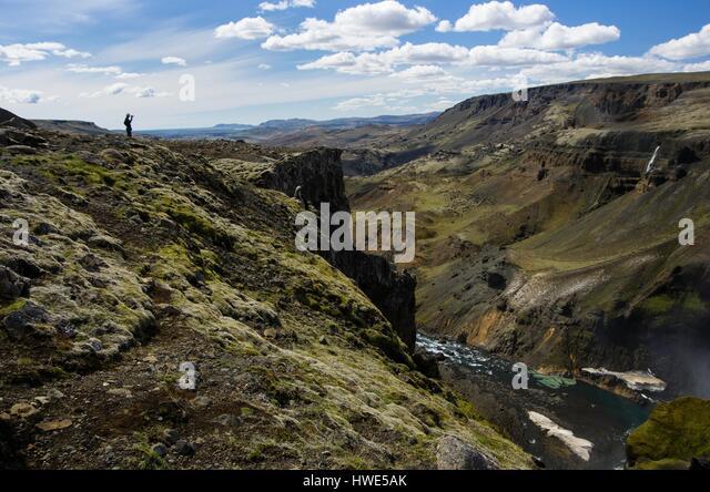 Countryside, canyon, river - Stock-Bilder