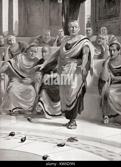 A discussion on the role of marcius portius cato in roman history