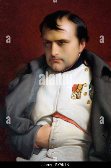 Napoleon I, Napoleon Bonaparte, Emperor of the French. 1769 - 1821. - Stock Image