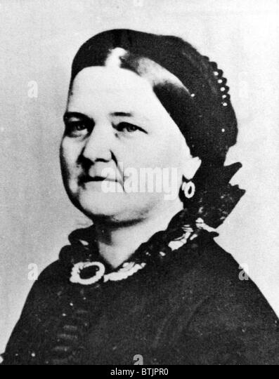 Future first lady Mary Todd Lincoln (wife of Abraham Lincoln), (1818-1882), c. 1850's. - Stock-Bilder