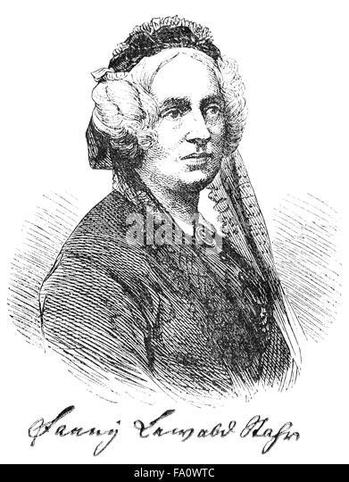 Fanny Lewald, 1811-1889, a German author, - Stock-Bilder