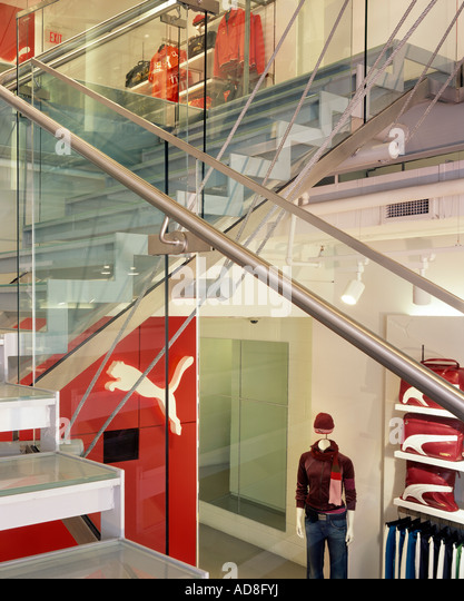 Puma Store, Georgetown, Washington D.C. Architect: Kanner Architects - Stock Image