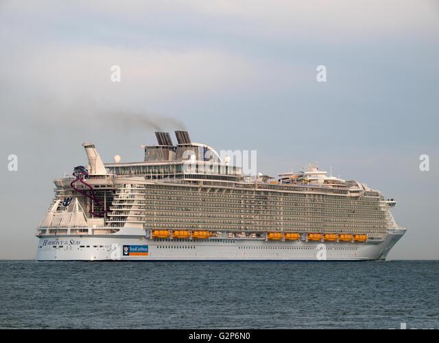 Harmony Of The Seas Cruise Ship Stock Photos Amp Harmony Of