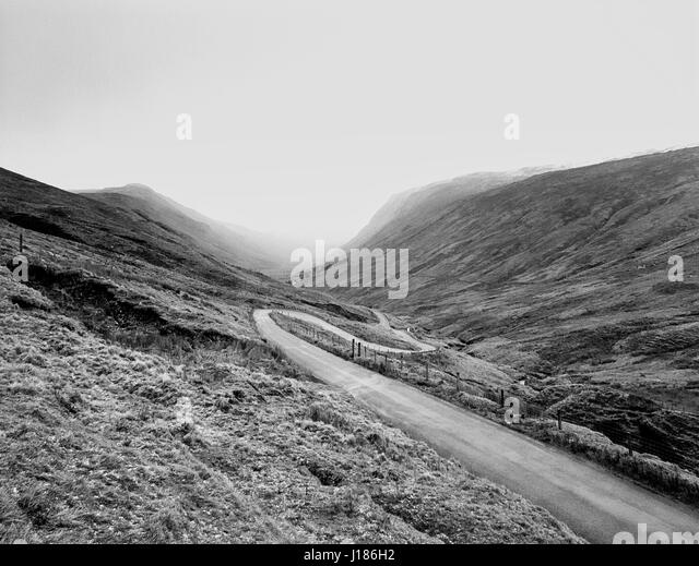 Glengesh Pass - Ireland - Stock Image