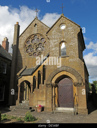 Montecute Baptist Church, south Somerset, England, UK - Stock Image