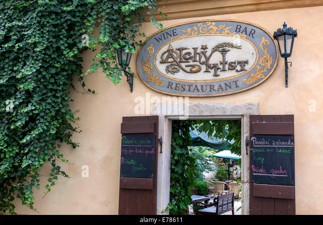 Mala strana restaurant stock photos mala strana for Best hotels in mala strana prague