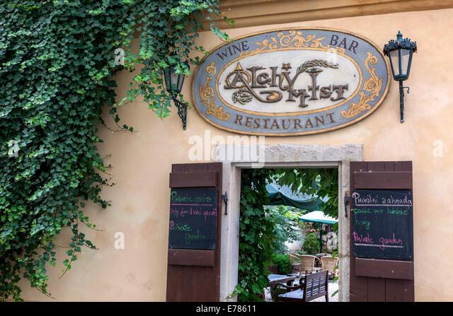 Mala strana restaurant stock photos mala strana for Best hotels in mala strana prague