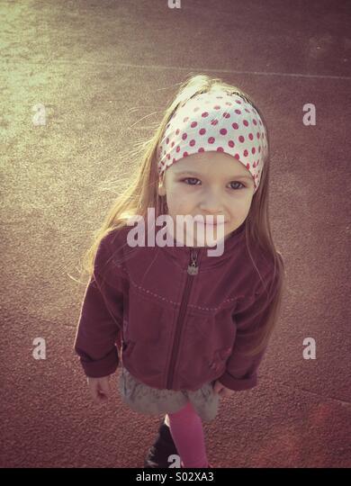 Little girl portrait - Stock-Bilder