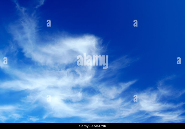Beautiful cloud formation - Stock Image