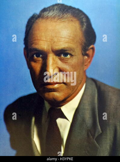 Photograph of Patrick Barr (1908-1985) a British film and television actor. Dated 20th Century - Stock Image