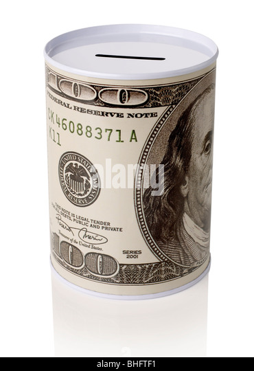 Coin Bank - Stock Image