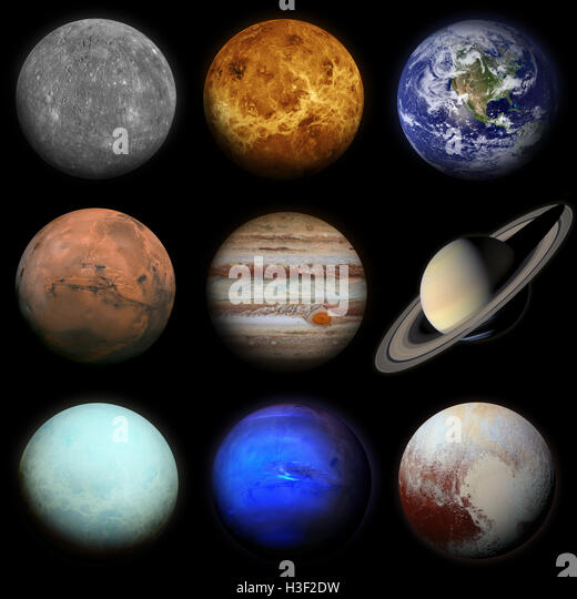Sun And Solar System Stock Photos & Sun And Solar System ...