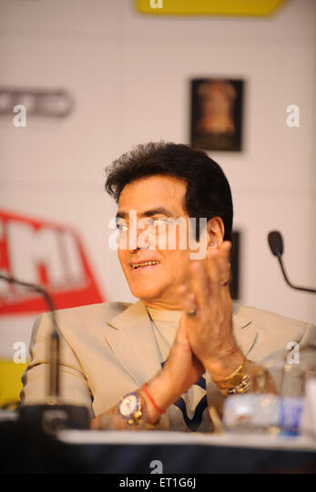 Actor jeetendra; India NO MR - Stock Image