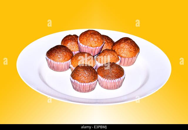 tasty cupcakes - Stock Image