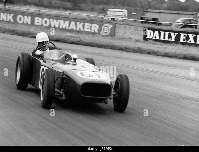 U2 Major Mallock. Silverstone 7-10-1961 - Stock Image