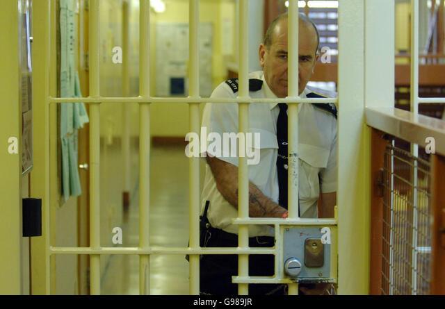 PRISONS Belmarsh - Stock Image