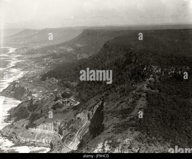 Stanwell Park South Coast - 7 July 1936 30186900731 o - Stock Image