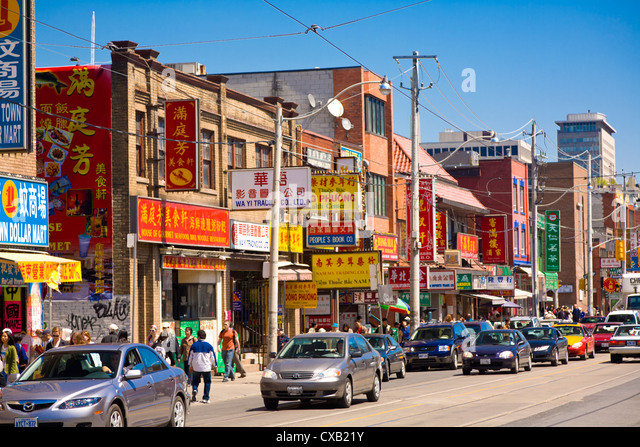 Chinatown, Toronto, Ontario, Canada, North America - Stock Image