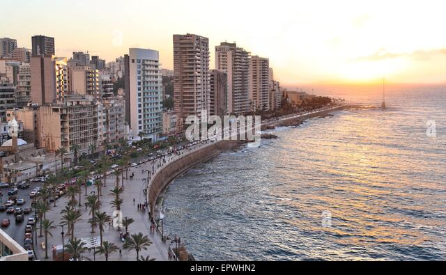 Beirut, Lebanon - Stock Image