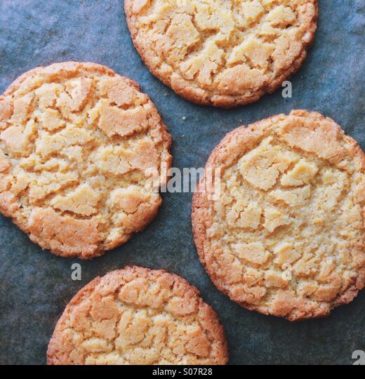 Corn Cookies - Stock Image