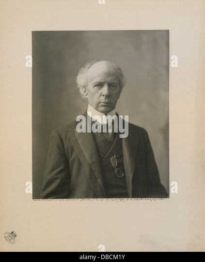The Honourable Sir Wilfrid Laurier Photo C (HS85-10-16873) - Stock Image