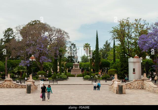 Dolores hidalgo mexico stock photos dolores hidalgo for Jardin hidalgo